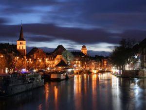 Estrasburgo-Alsacia-Francia-Región-Europa